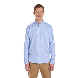 Men's Chaps Button-Down Stretch Oxford Shirt