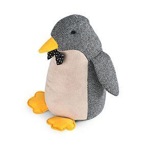 Elements Decorative Gray Penguin Door Stopper