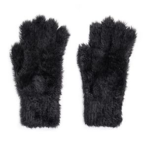 MUK LUKS Women's Fuzzy Gloves