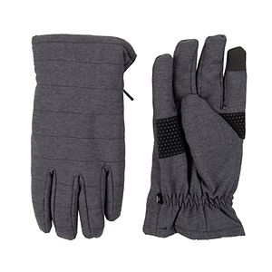 Dockers Mens Quilted Glove with Fleece Lining