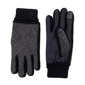 Men's Levi's Herringbone Mixed Media Glove