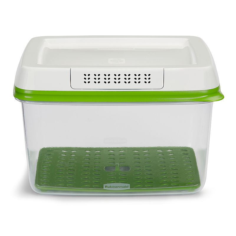 Rubbermaid FreshWorks 17.3-Cup Produce Saver Food Storage Container, 4 QT