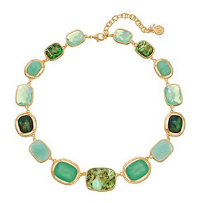 Dana Buchman Abalone Collar Necklace