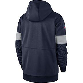 Men's Dallas Cowboys Nike Therma Hoody Full-Zip