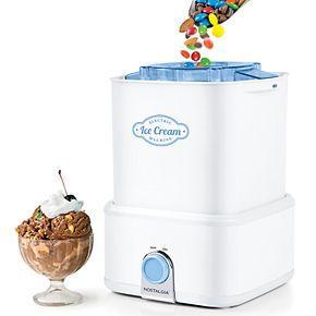 Nostalgia Electrics Candy Crush Ice Cream Maker