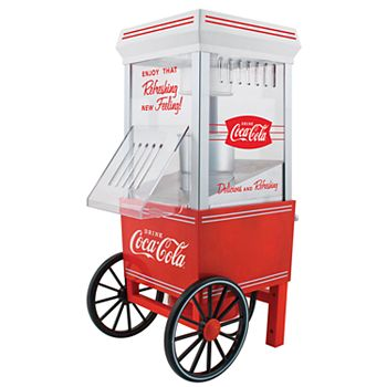 Nostalgia Electrics Coca-Cola 12-Cup Hot Air Popcorn Maker