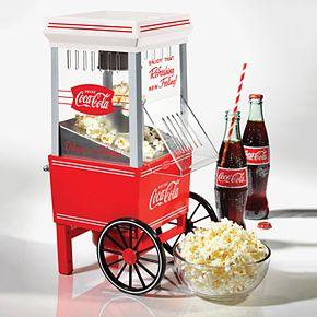 Nostalgia Electrics Coca-Cola 12-Cup Hot Air Popcorn Maker