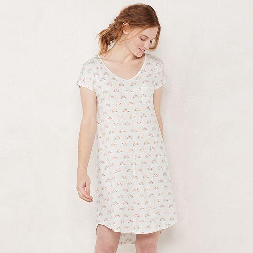 Women's LC Lauren Conrad V-Neck Sleep Shirt