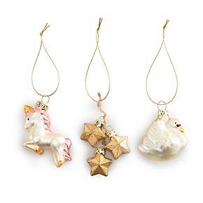LC Lauren Conrad Magical Ornament 3-Piece Set