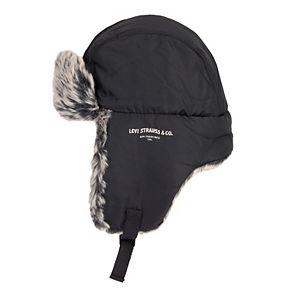 Men's Levi's Faux-Fur Trapper Hat