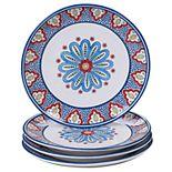 Certified International Tangier 4-pc. Dinner Plate Set