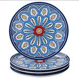 Certified International Tangier 4-pc. Salad Plate Set