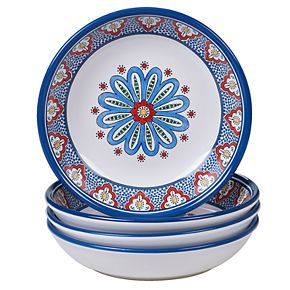 Certified International Tangier 4-pc. Soup Bowl Set