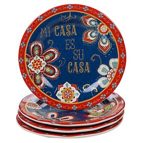 Certified International La Vida 4-pc. Salad Plate Set