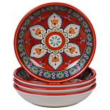 Certified International La Vida 4-pc. Soup Bowl Set