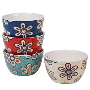Certified International La Vida 4-pc. Ice Cream Bowl Set