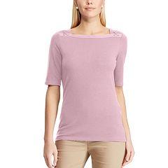 Women's Chaps Square neck Top