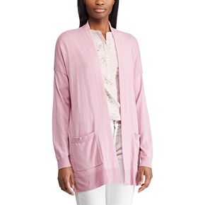 Women's Chaps Relaxed Open-Front Cardigan