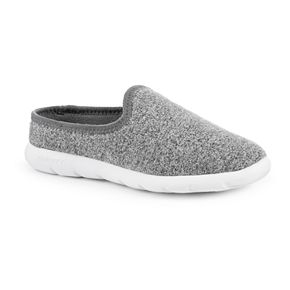 Zenz From isotoner Women's Hoodback Heather Slip-ons
