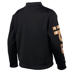 Girls 7-16 Adidas Logo Tricot Track Jacket