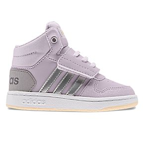 adidas Hoops Mid 2.0 Toddler Girls' Basketball Shoes