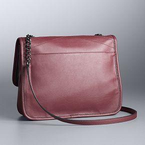 Simply Vera Vera Wang Flap Cross Body Bag