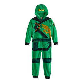 Boys 4-12 Lego Ninjago Fleece Union Suit