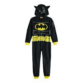 Boys 4-12 Lego Batman Fleece Union Suit