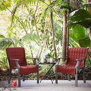 Classic Accessories Montlake FadeSafe Indoor / Outdoor Patio Chair Slipcover