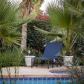 Classic Accessories Montlake FadeSafe Indoor / Outdoor Patio Chaise Slipcover