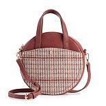 LC Lauren Conrad Lydia Crossbody Circle Bag