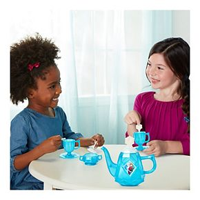 Disney's Frozen Snowflake Shimmer Tea Set