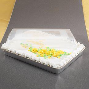 Nordic Ware Hi-Side Sheet Cake Baking Pan with Lid