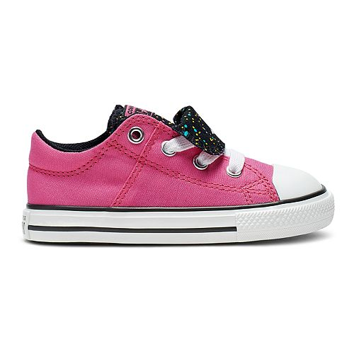 Toddler Girls' Converse Chuck Taylor All Star Maddie Gravity Double Tongue Sneakers