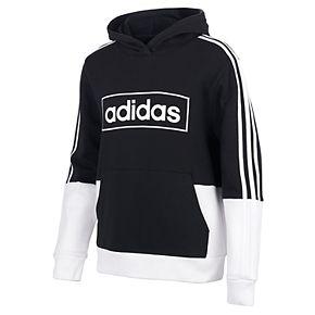 Boys 8-20 adidas Colorblock Fleece Pull-Over Hoodie