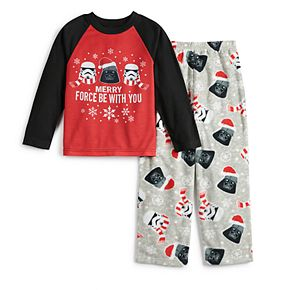 Boys 4-12 Jammies For Your Families Star Wars Top & Bottoms Pajama Set