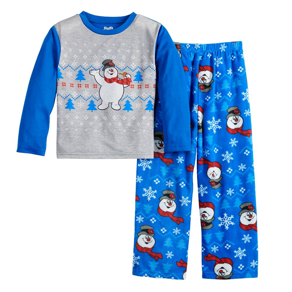 Boys 4-12 Jammies For Your Families Frosty the Snowman Top & Bottoms Pajama Set