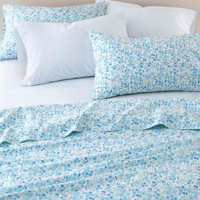 Laura Ashley Sugar Almond Floral Sheet Set