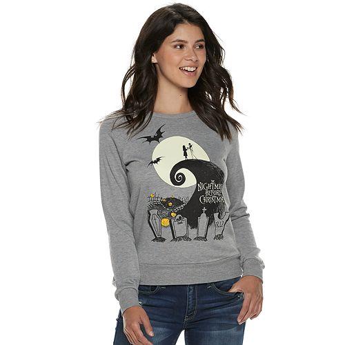 Juniors' The Nightmare Before Christmas Pullover Sweatshirt