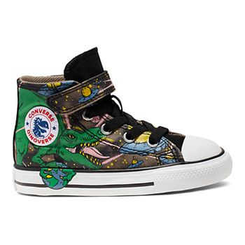 Toddler Boys' Converse Chuck Taylor All Star Interstellar Dinosaur High Top Shoes