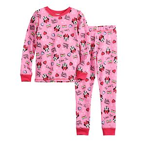Disney's Minnie Mouse Toddler Girl Cuddl Duds® Thermal 2-Piece Set