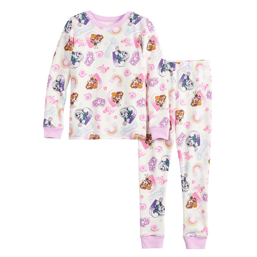 Toddler Girl Cuddl Duds® Thermal 2-Piece Set