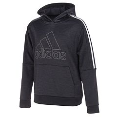 ee04f22bbb3f7 Boys 8-20 adidas 3-Striped Pull-Over Hoodie