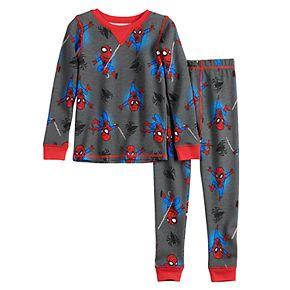 Toddler Boy Spider-Man Cuddl Duds® Thermal 2-Piece Set