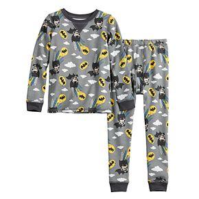 Toddler Boy Batman Cuddl Duds® Thermal 2-Piece Set