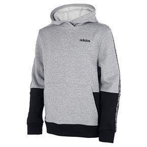 Boys 8-20 adidas Core Tape Fleece Pull-Over Hoodie