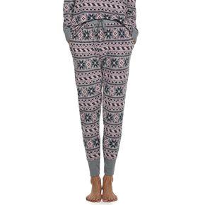 Women's Croft & Barrow® Luxe Banded-Bottom Pajama Pants
