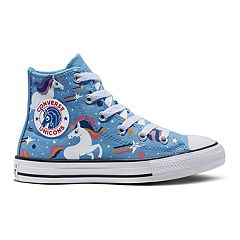 5f00cae9a85c Girls' Converse Chuck Taylor All Star Unicons High Top Shoes