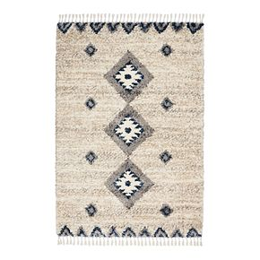Nourison Scandinavian Blissful Shag Rug