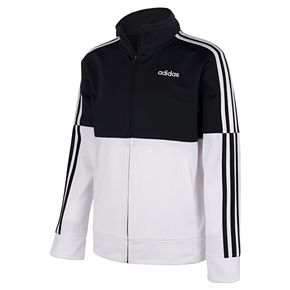 Boys 8-20 adidas Colorblock Tricot Jacket